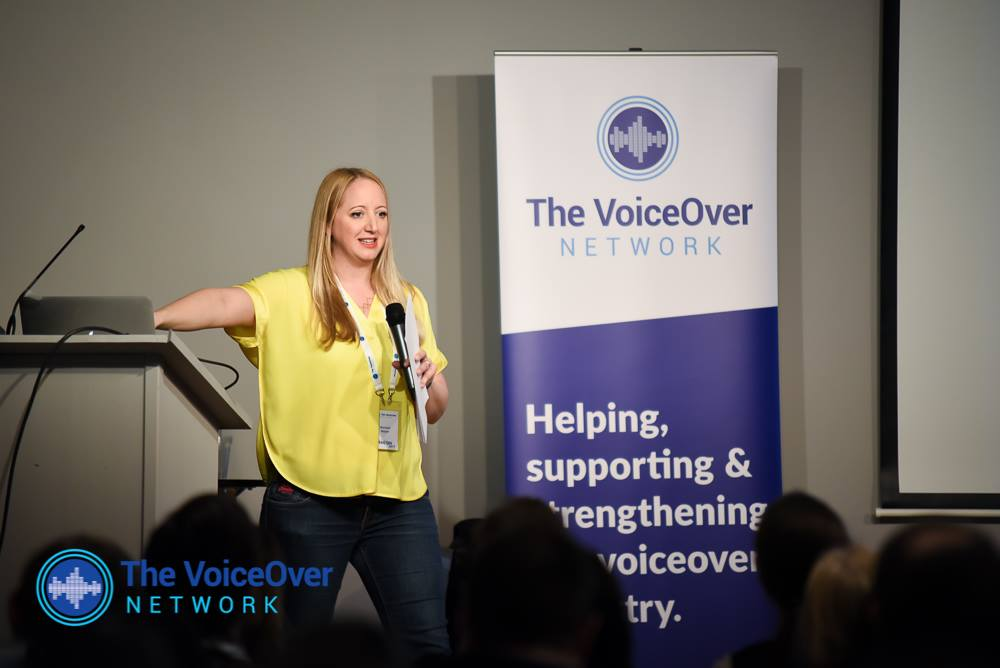 'A VOICEOVER INTENSIVE WORKSHOP' BY RACHAEL NAYLOR