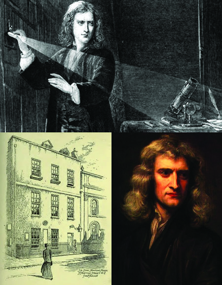 ISAAC NEWTON AND THE LOST SOHO OBSERVATORY