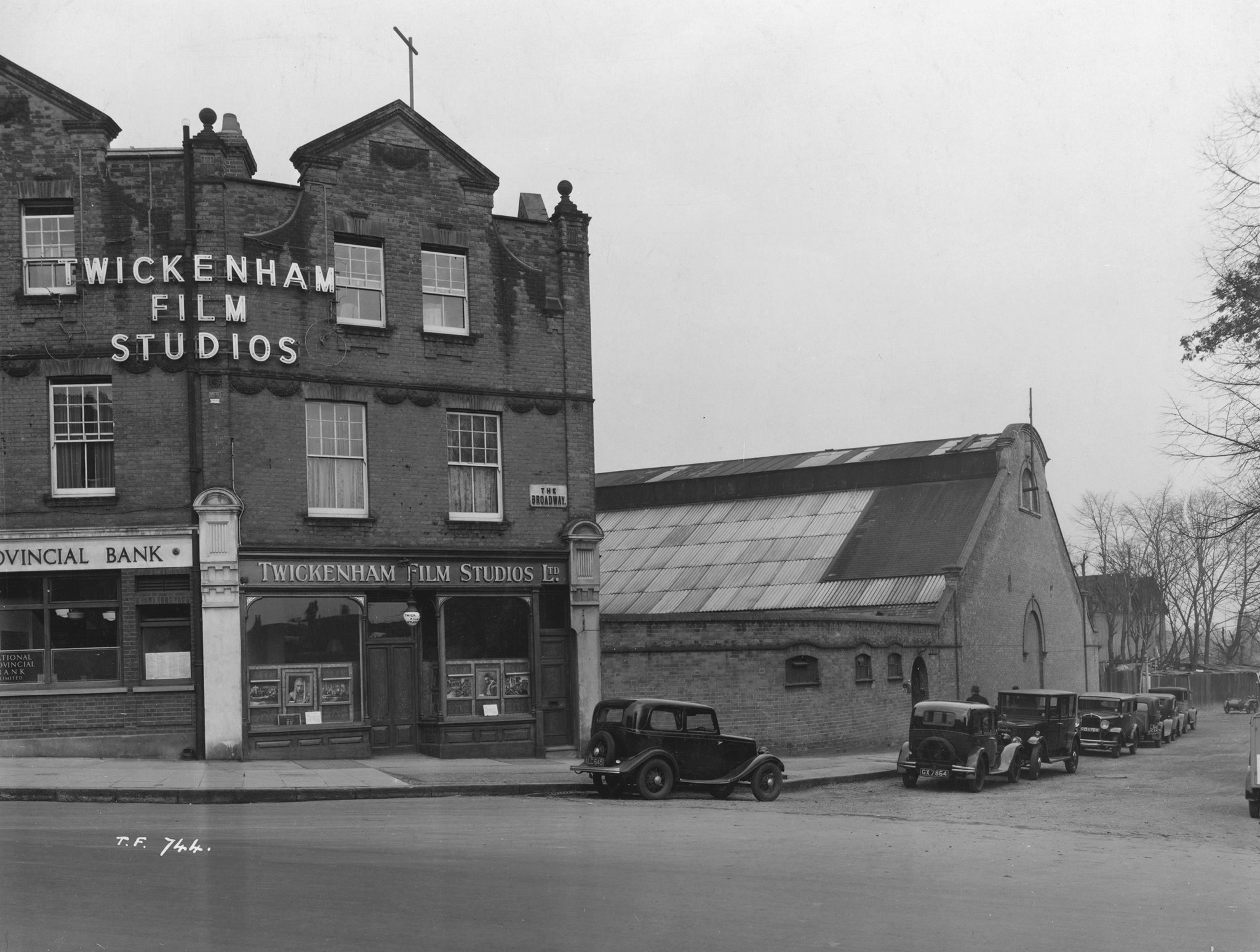 'ROLLING' - SAVING TWICKENHAM FILM STUDIOS