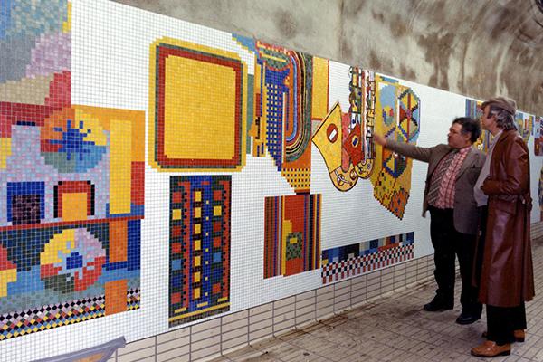 EDUARDO PAOLOZZI PRIVATE VIEW